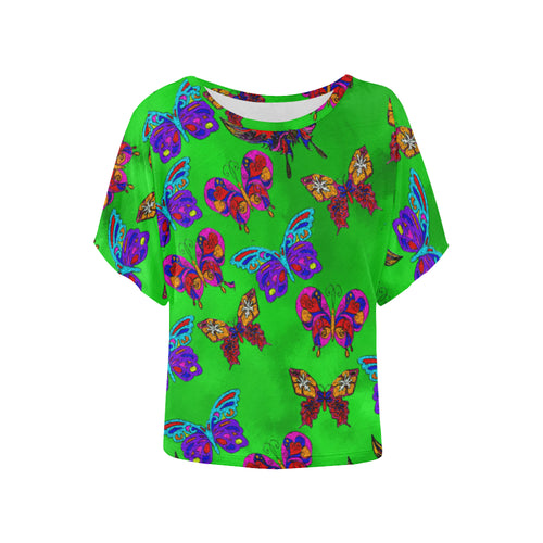 Butterfly Topia Women's Batwing Sleeve T-Shirt