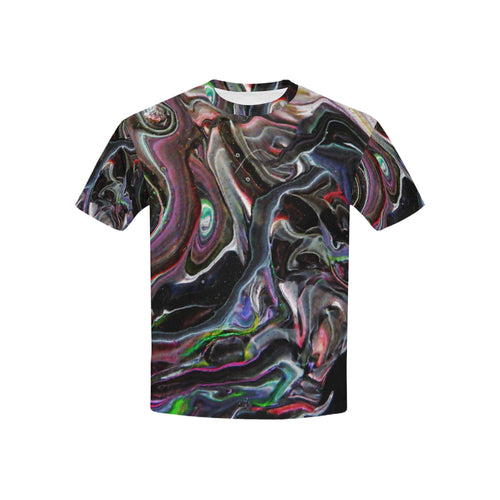 Universe Interrupted Kid's All Over Print T-shirt (USA Size)