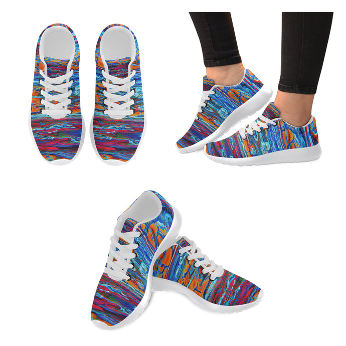 Broken Color Women's Sneakers