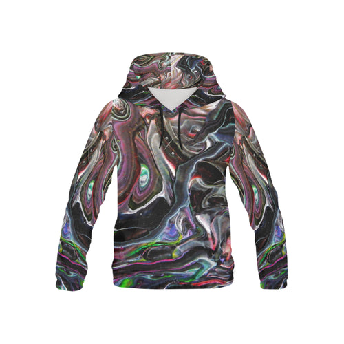 Universe Interrupted Youth All Over Print Hoodie (USA Size)