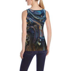 A Piece of Hell Women's All Over Print Tank Top