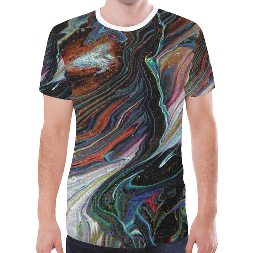 Wonkyverse Men's All Over Print T-shirt (Large Size)