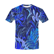 Aurora Florialis Men's All Over Print T-shirt (USA Size)