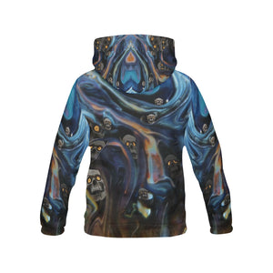 A Piece of Hell Men's All Over Print Hoodie Large Size (USA Size)