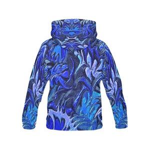 Aurora Florialis Men's All Over Print Hoodie (USA Size)