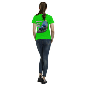 More than just a trucker Women's All Over Print T-shirt (USA Size) (Large Size)