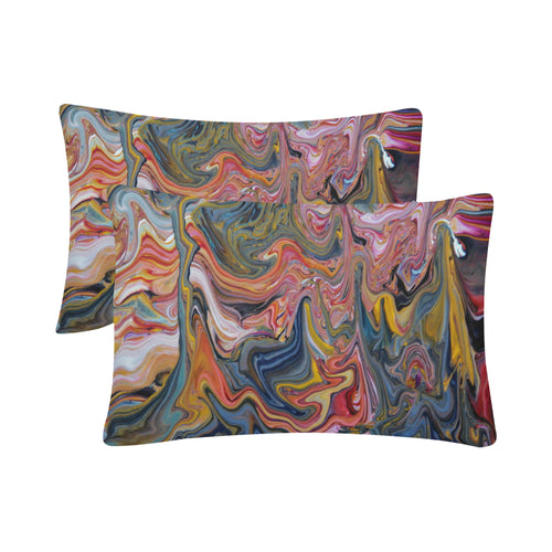 Swirly Whirly Rectangle Pillow Case 20