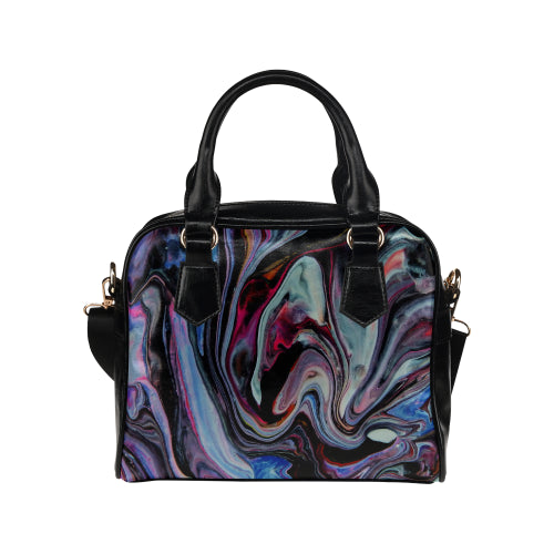 Wild Universe Shoulder Handbag