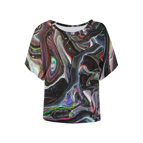 Universe Interrupted Women's Batwing Sleeve T-Shirt