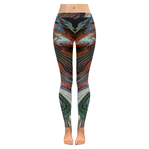 Wonkyverse All-Over Low Rise Leggings