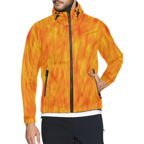 Highway Warrior All Over Print Windbreaker for Men