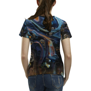 A Piece of Hell Women's All Over Print T-shirt (USA Size)