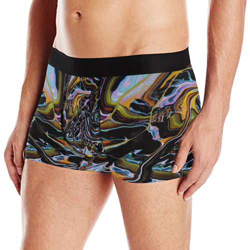 River World Men's All Over Print Briefs