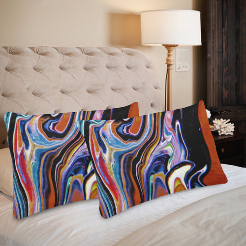 Rainbow River Rectangle Pillow Case 20