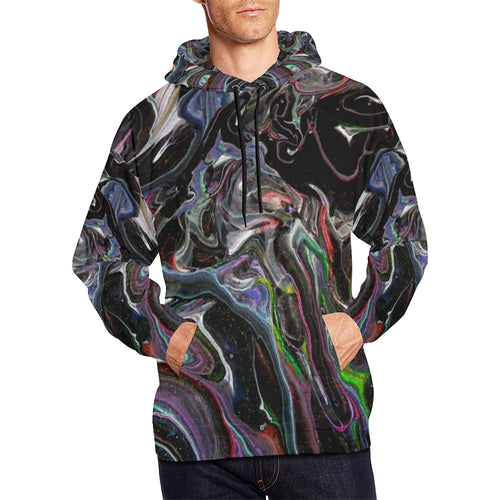 Multiverse Men's All Over Print Hoodie Large Size (USA Size)