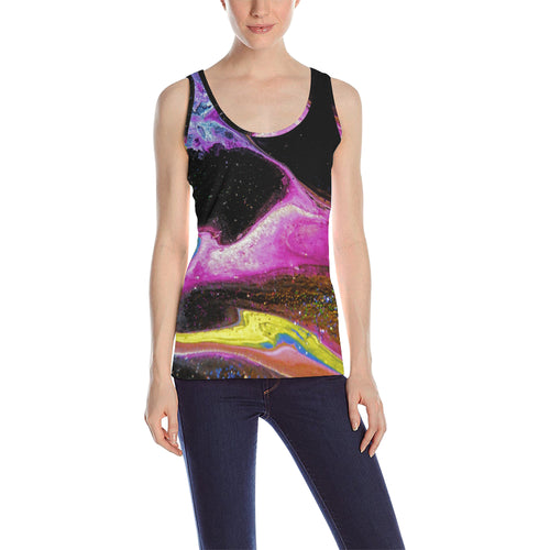 Chaotic Nebular Women's All Over Print Tank Top