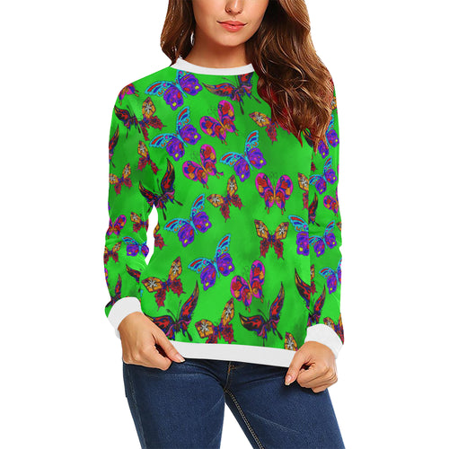 Butterfly Topia Women's All Over Print Sweatshirt