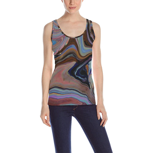 Wave World Women's All Over Print Tank Top