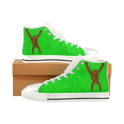 Savety Monkey Aquila High Top Canvas Kid's Shoes