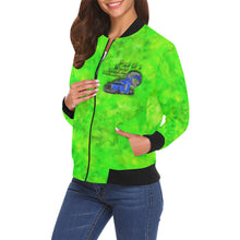 World Leading Industry Women's All Over Print Casual Jacket