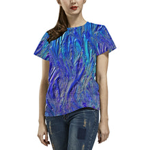 Big Smear Women's All Over Print T-shirt (USA Size)