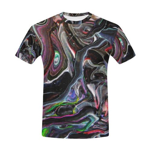 Universe Interrupted Men's All Over Print T-shirt (USA Size)
