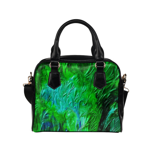 Wild Green Shoulder Handbag