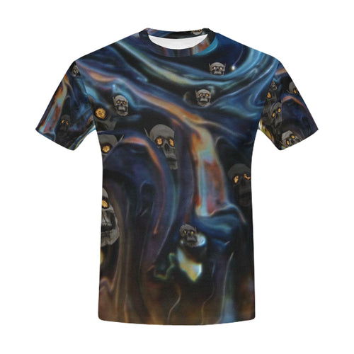 A Piece of Hell Men's All Over Print T-shirt (USA Size)