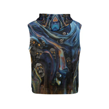 A Piece of Hell Men's All Over Print Sleeveless Hoodie