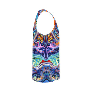 Psychedelic River Men's All Over Print Tank Top
