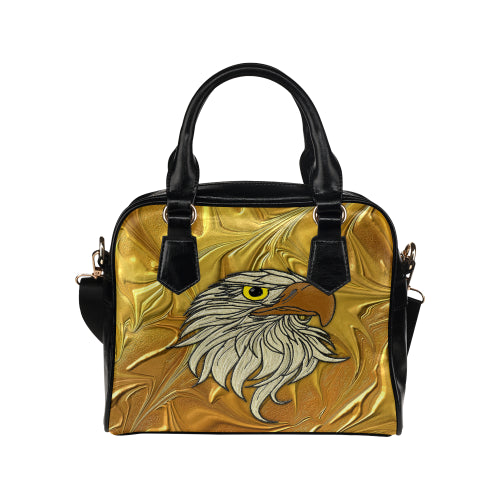 Golden Eagle Shoulder Handbag