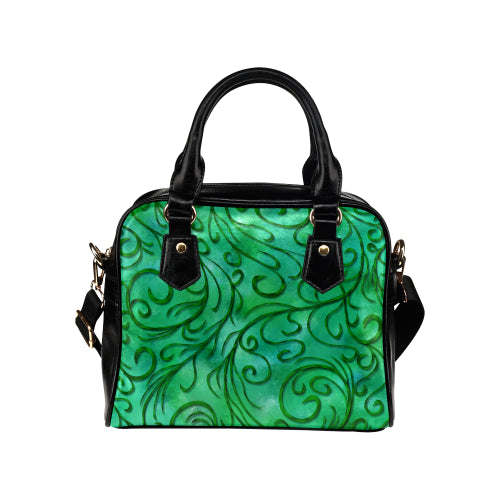 Simple Vines Shoulder Handbag
