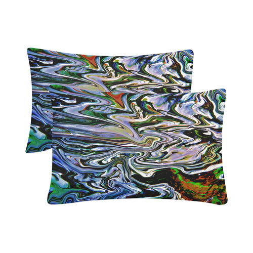 River Convergence Rectangle Pillow Case 20