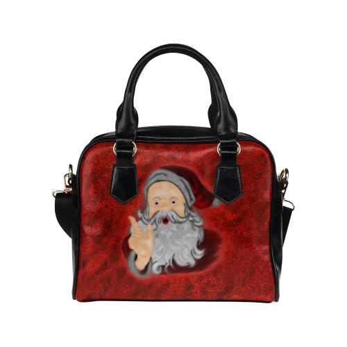 Santa Claus Shoulder Handbag