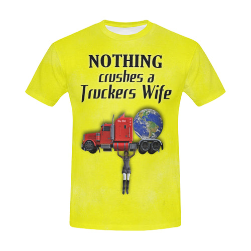 Nothing Crushes Her Men's All Over Print T-shirt (USA Size)