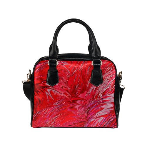 Wild Petals Shoulder Handbag