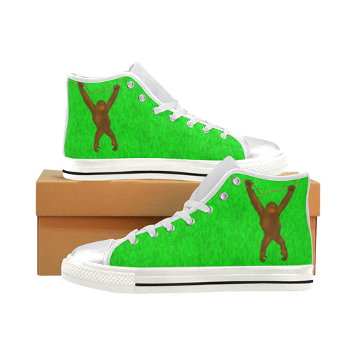 Savety Monkey Aquila High Top Canvas Women's Shoes (Large Size)