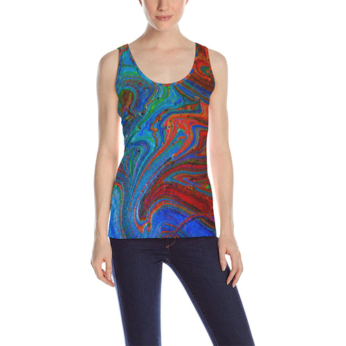 Runny Funny Women's All Over Print Tank Top