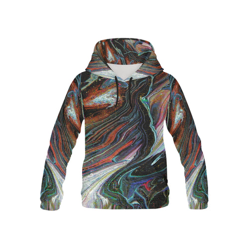Wonkyverse Youth All Over Print Hoodie (USA Size)