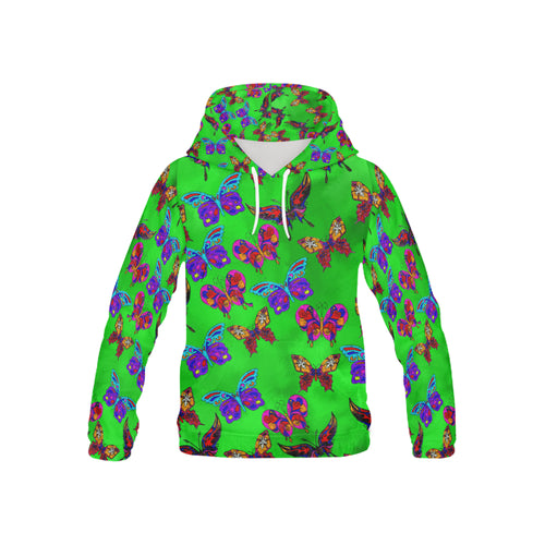 Butterfly Topia Youth All Over Print Hoodie (USA Size)