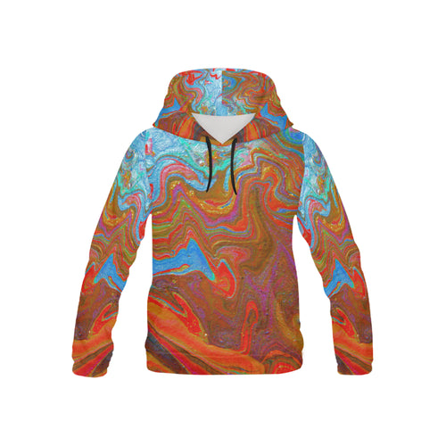 Wonderful Colorworld Youth All Over Print Hoodie (USA Size)