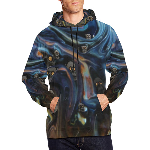 A Piece of Hell Men's All Over Print Hoodie (USA Size)
