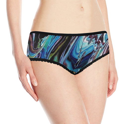Downhill Women's All Over Print Classic Briefs