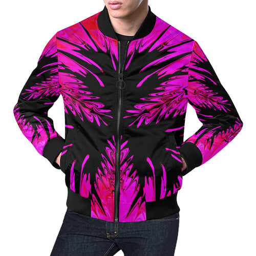 Inkstained Men's All Over Print Casual Jacket