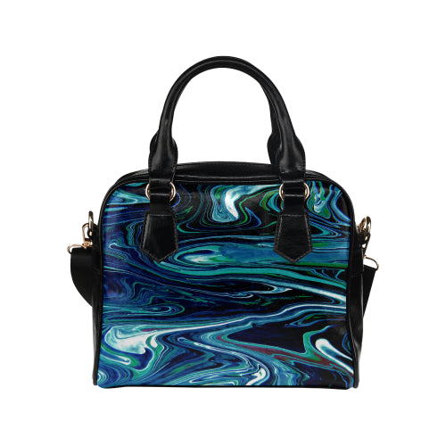 Wild Wild River Shoulder Handbag