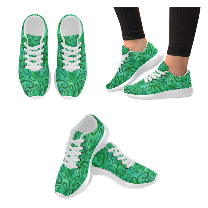Simple vines Women's Sneakers