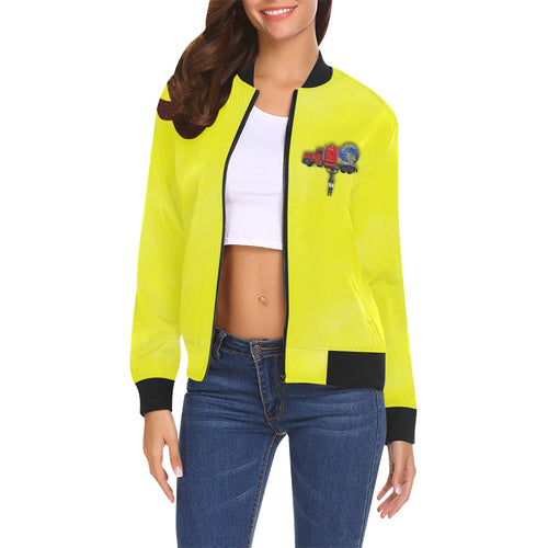 Nothing Crushes Her Women's All Over Print Casual Jacket