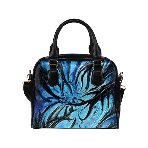 Tendrils of Darknes Shoulder Handbag