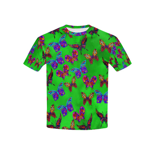Butterfly Topia Kid's All Over Print T-shirt (USA Size)