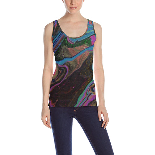 Neon Flux Women's All Over Print Tank Top